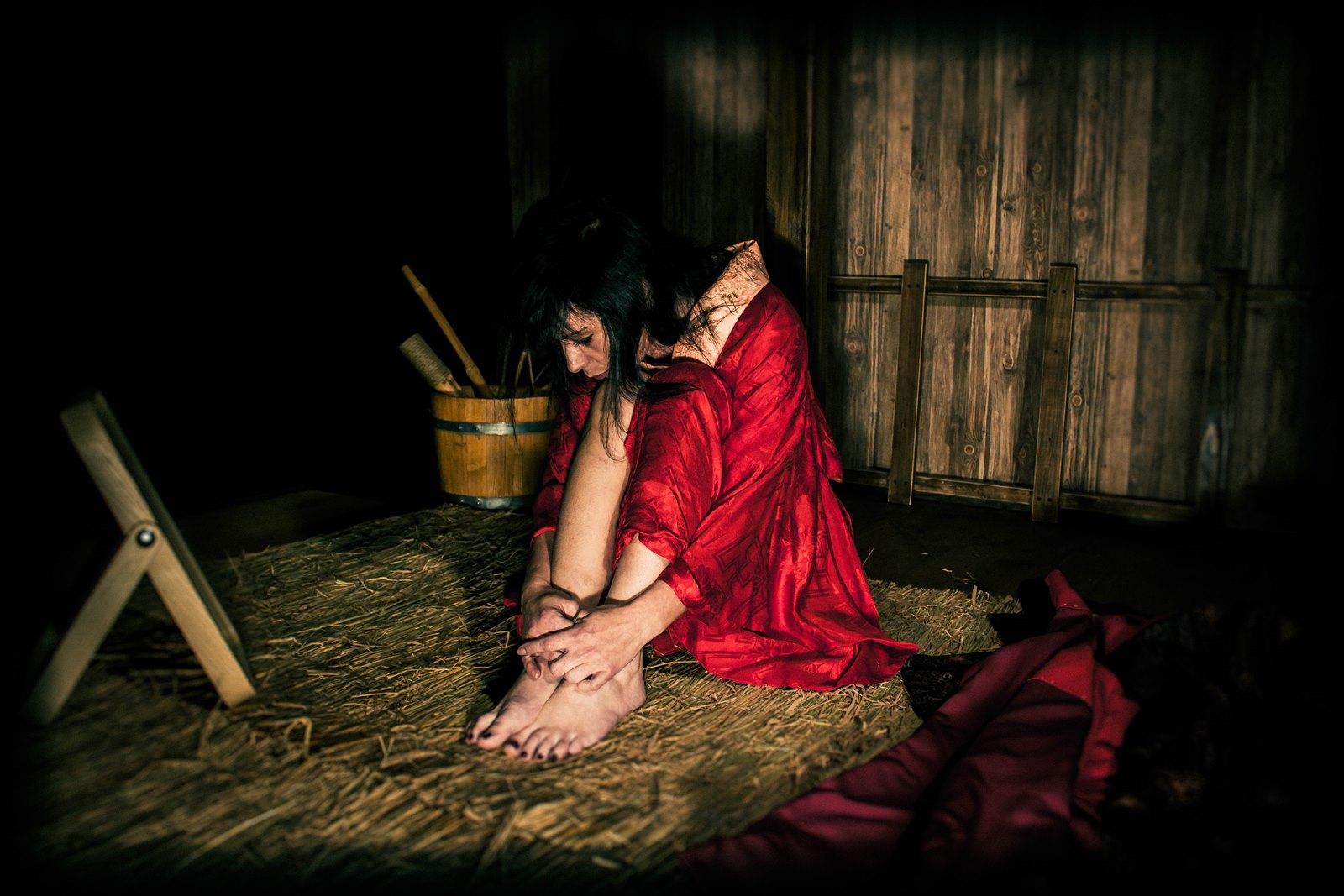 Corde de riz et tengu avec Tyka 01