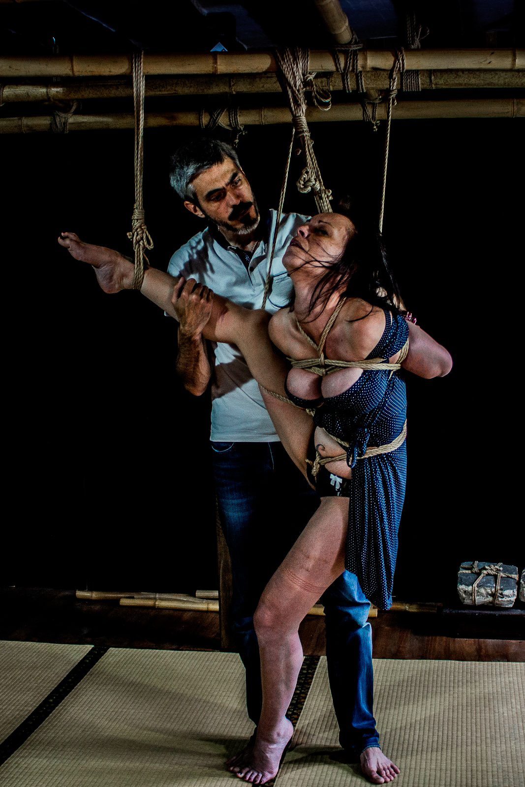 immersion de kinbaku