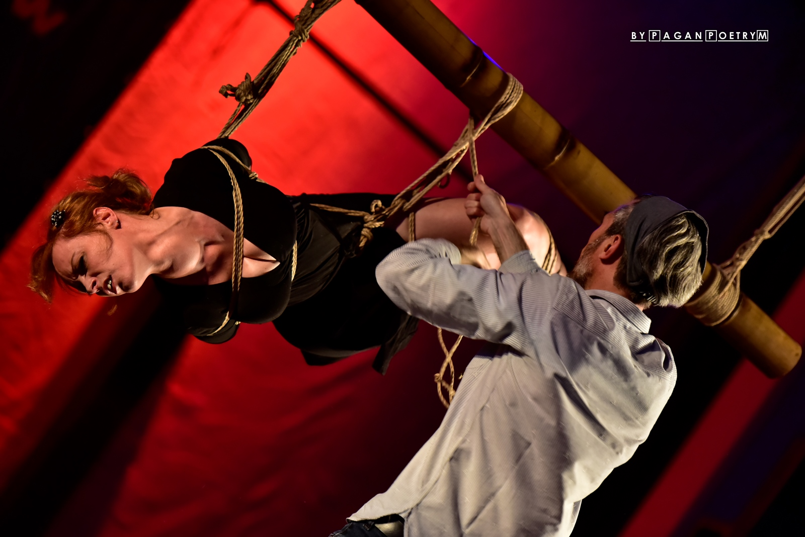 kinbaku Performance by Docvale
