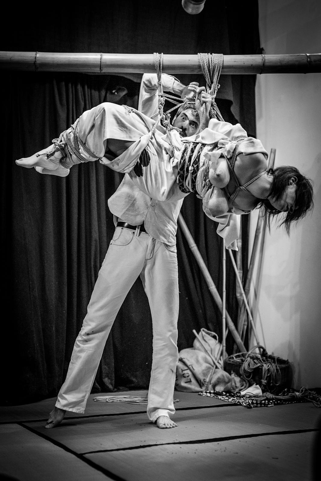 Performance bondage japonais Lyon 2017 Pyrrhus 10