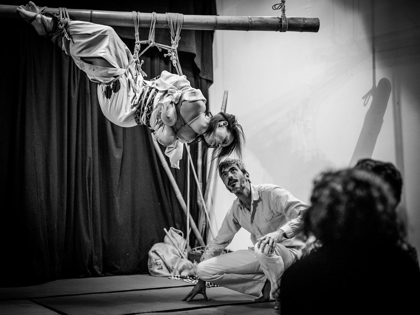 Performance bondage japonais Lyon 2017 Pyrrhus 11
