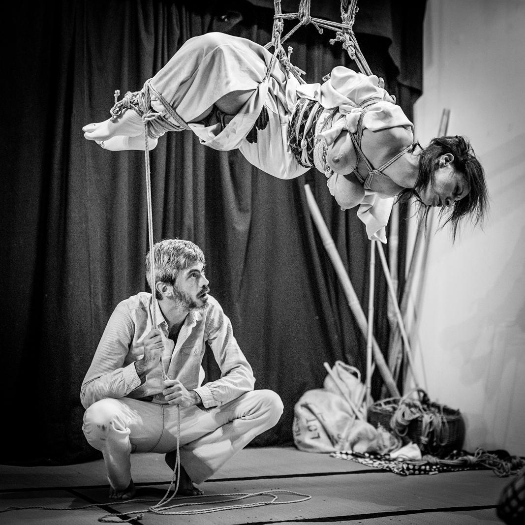 Performance bondage japonais Lyon 2017 Pyrrhus 12