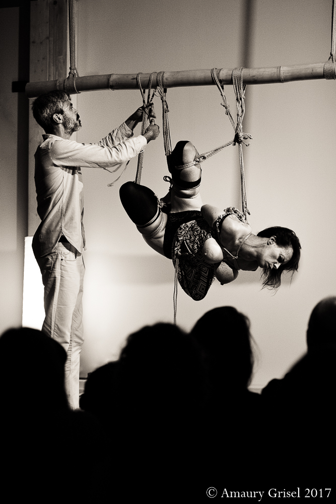 Performance kinbaku Turin Amaury Grisel 13