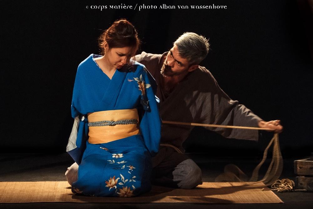 Performance shibari caen Alban Van Wassenhove 03