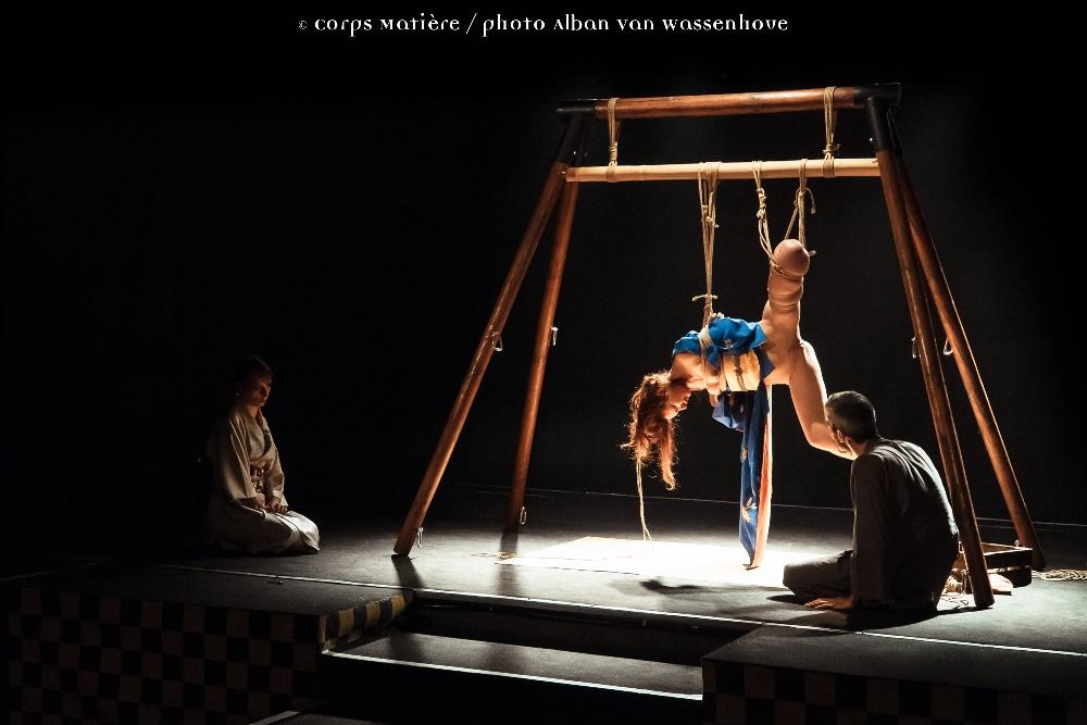Performance shibari caen Alban Van Wassenhove 10