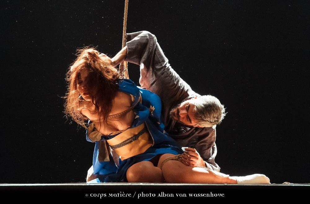 Performance shibari caen Alban Van Wassenhove 13
