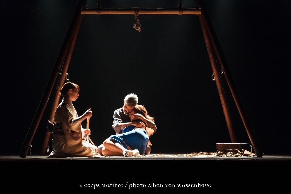 Performance shibari caen Alban Van Wassenhove 14